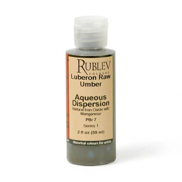 Rublev Colours Luberon Raw Umber 2 fl oz - Color: Brown