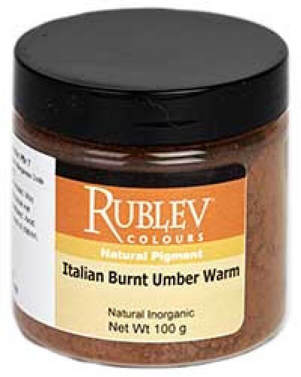 Rublev Colours Rublev Colours Italian Burnt Umber Warm 100 g - Color: Brown