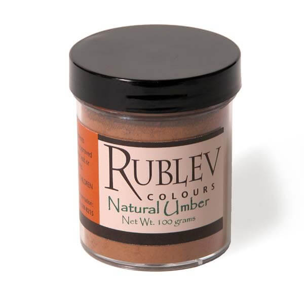 Natural Pigments Raw Umber 100g