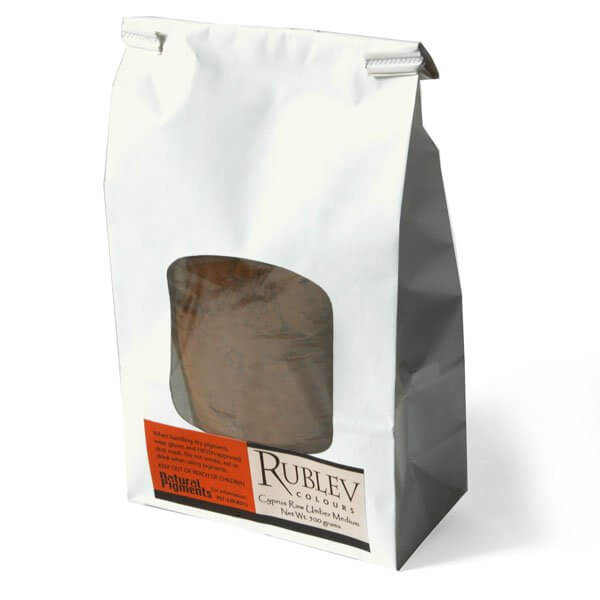 Rublev Colours Rublev Colours Cyprus Raw Umber Medium 500 g - Color: Brown