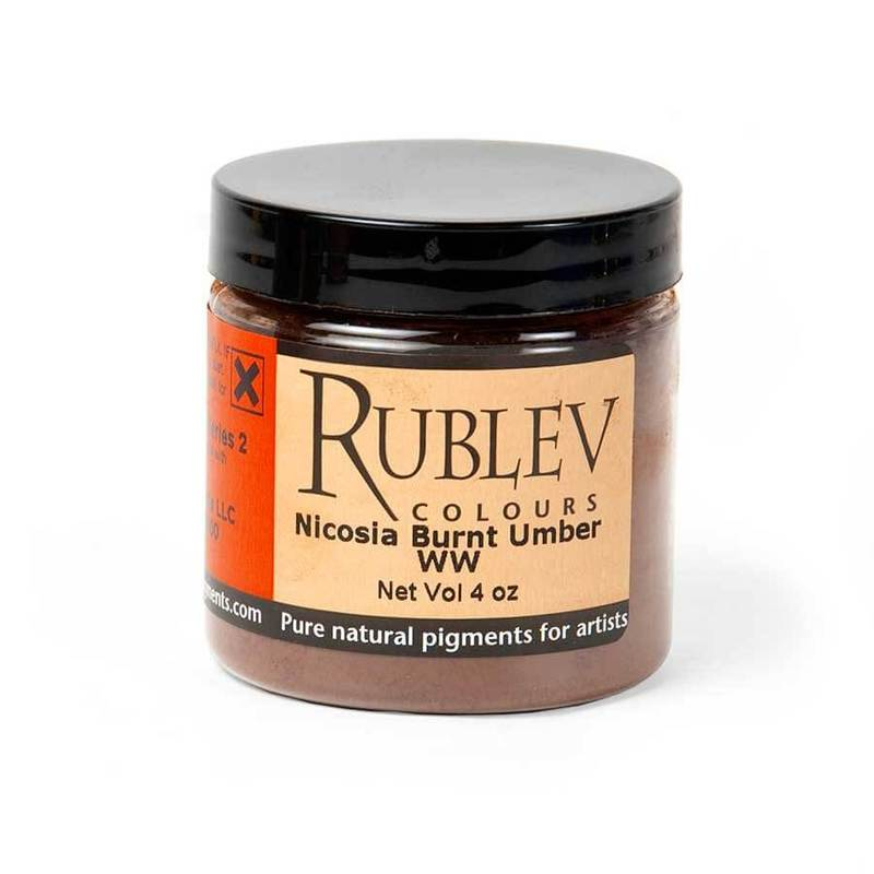 Nicosia Burnt Umber WW (4 oz vol)