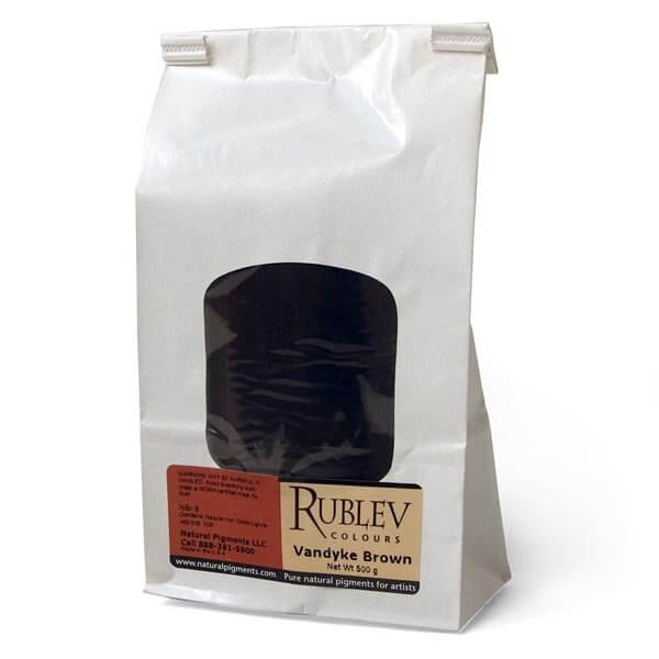 Rublev Colours Van Dyke Brown 500 g - Color: Brown Black
