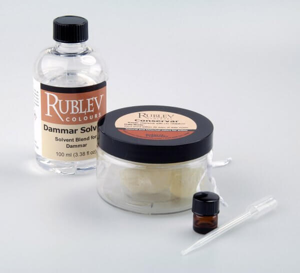 Natural Pigments Conservar Dammar Varnish Kit