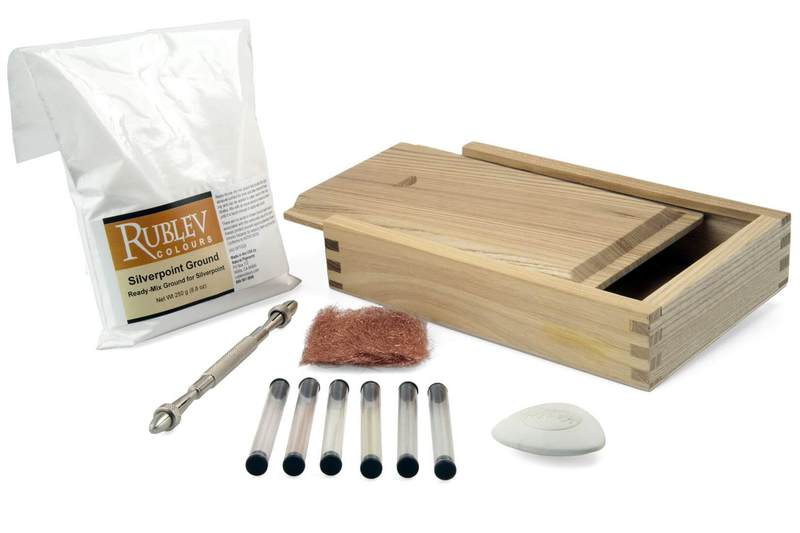 Aurum Natural Pigments Silverpoint Drawing Gift Set
