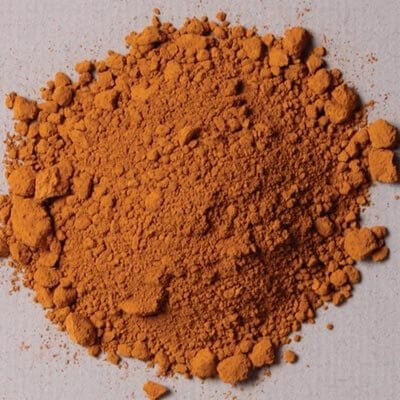 Natural Pigments Yellow Oxide 100g