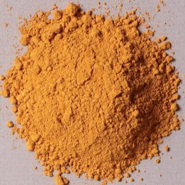 Rublev Colours Italian Natural Pigments Italian Yellow Earth 100 g - Color: Yellow