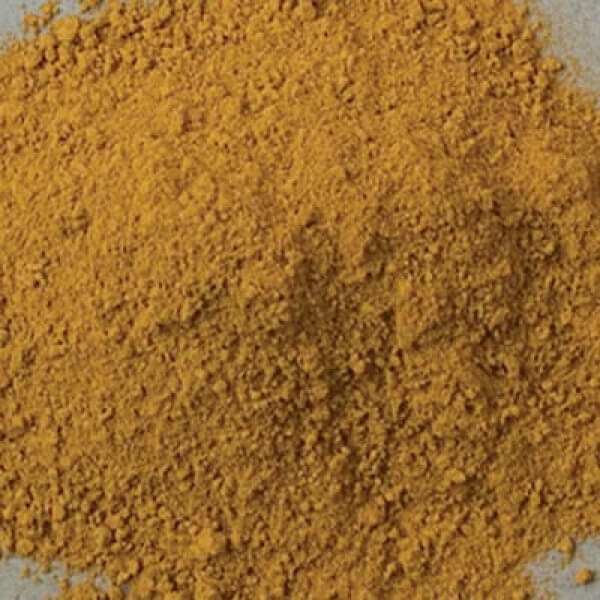 Natural Pigments Rublev Colours Ambrogio Yellow Earth 5 kg - Color: Yellow