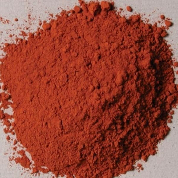 Natural Pigments Red Sartorius Earth 100 g - Color: Red
