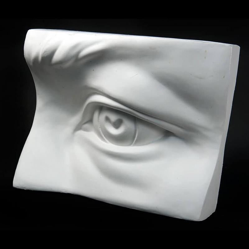 Drawing Plaster Cast Eye (Giant)