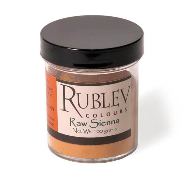 Natural Pigments Raw Sienna 100g