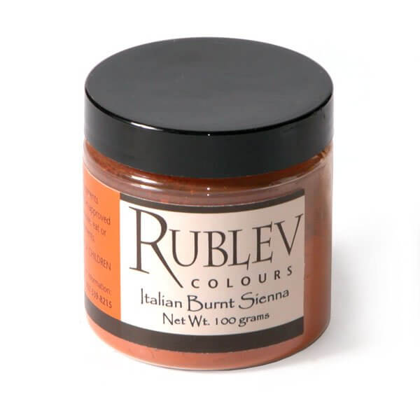 Rublev Colours Rublev Colours Italian Burnt Sienna 100 g - Color: Brown