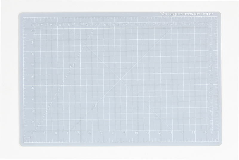 "Dahle Vantage® Self-Healing Cutting Mat 36"" x 48"" Crystal Clear"