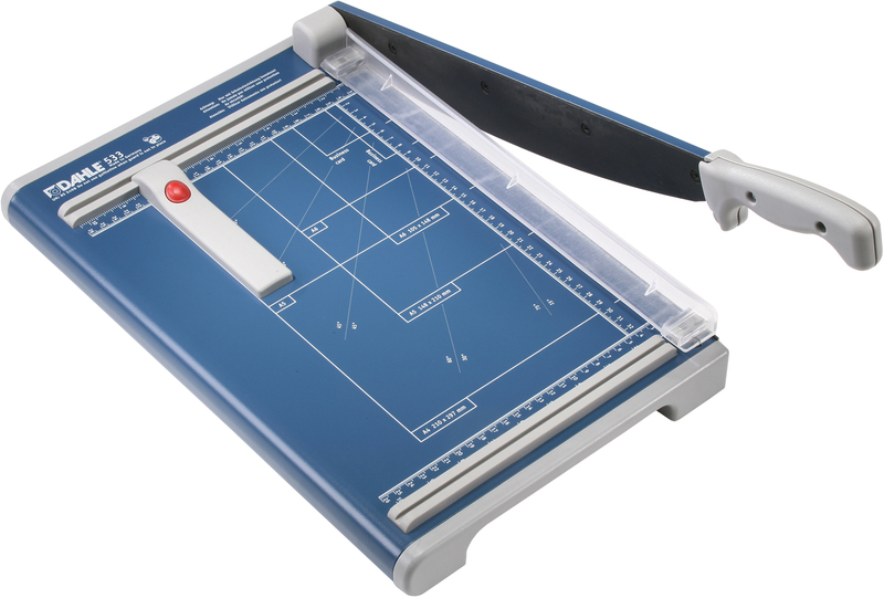 "Dahle 533 Professional Guillotine - 13 3/8"" cutting length"