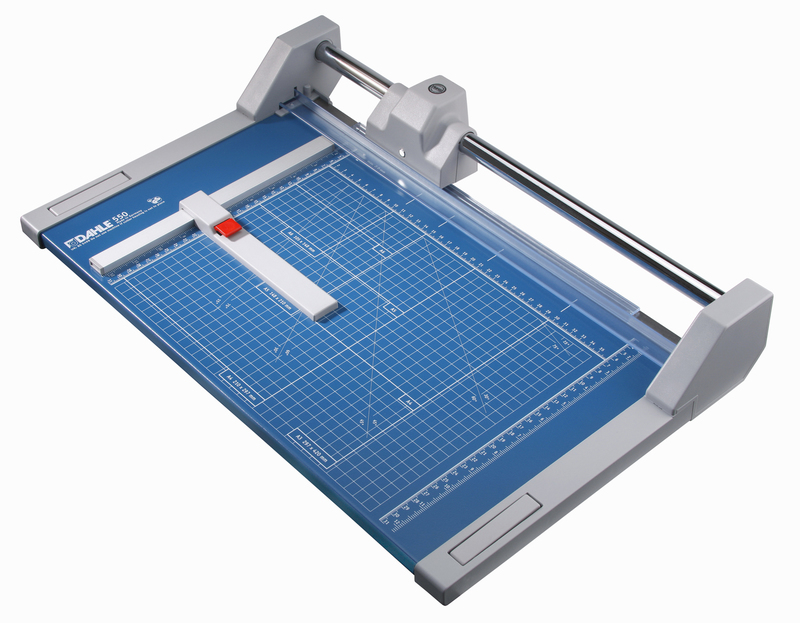"Dahle 550 Professional Rolling Trimmer -  14 1/8"" cutting length"