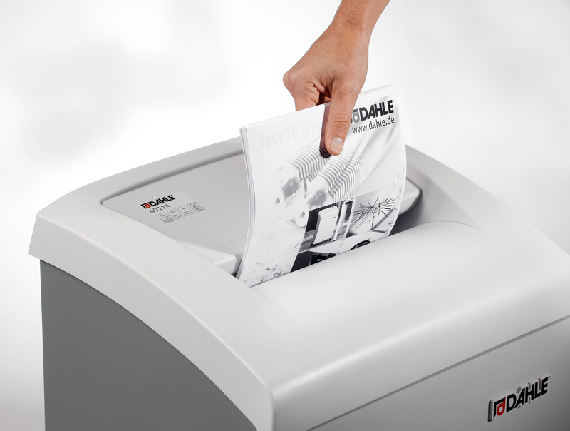 Dahle 40434 Cross Cut Professional High Security Office Shredder