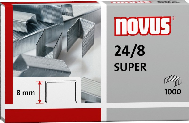 Novus 24/8 Super -Premium Office Staples
