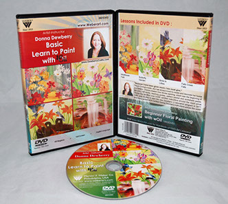 Donna Dewberry DVD-Basic Learn To Paint With Woil