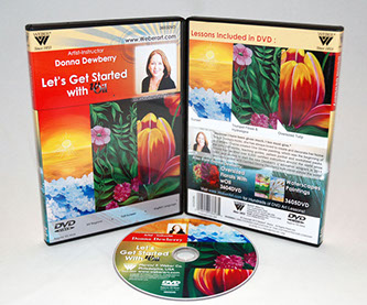Donna Dewberry DVD-Getting Started Painting With Woil