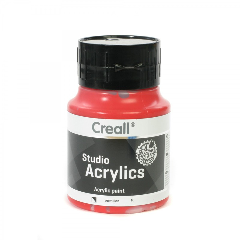 American Educational Creall® Studio Acrylics 500ml - Vermillion