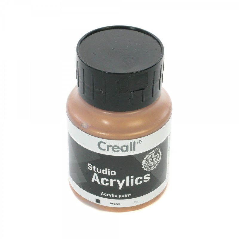 American Educational Creall® Studio Acrylics 500ml - Bronze