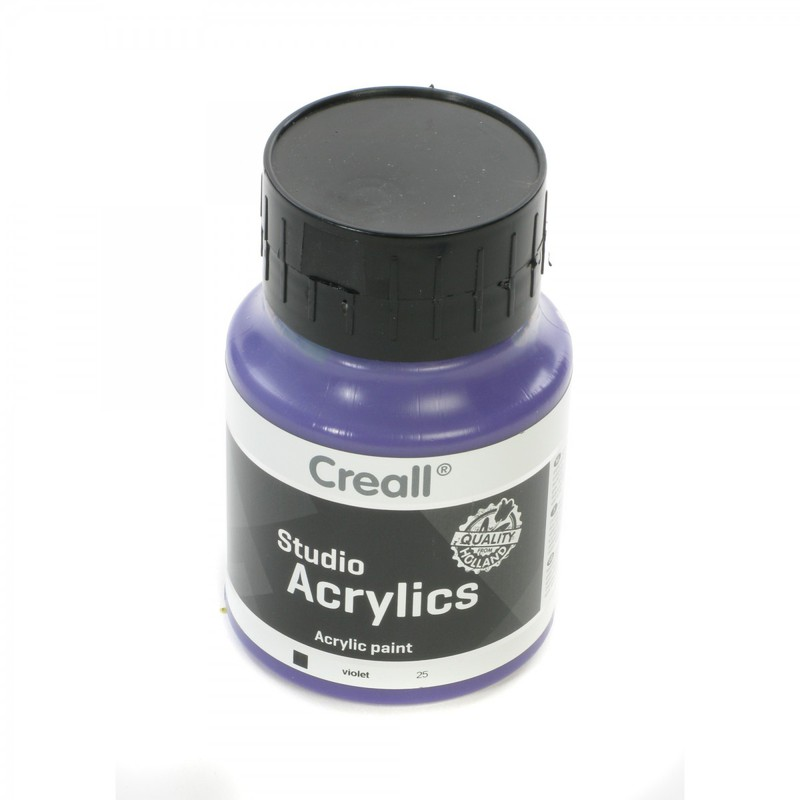 American Educational Creall® Studio Acrylics 500ml - Violet