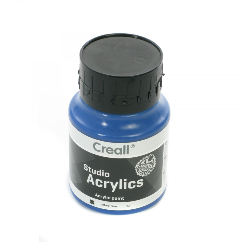 American Educational Creall® Studio Acrylics 500ml - Phtalo Blue