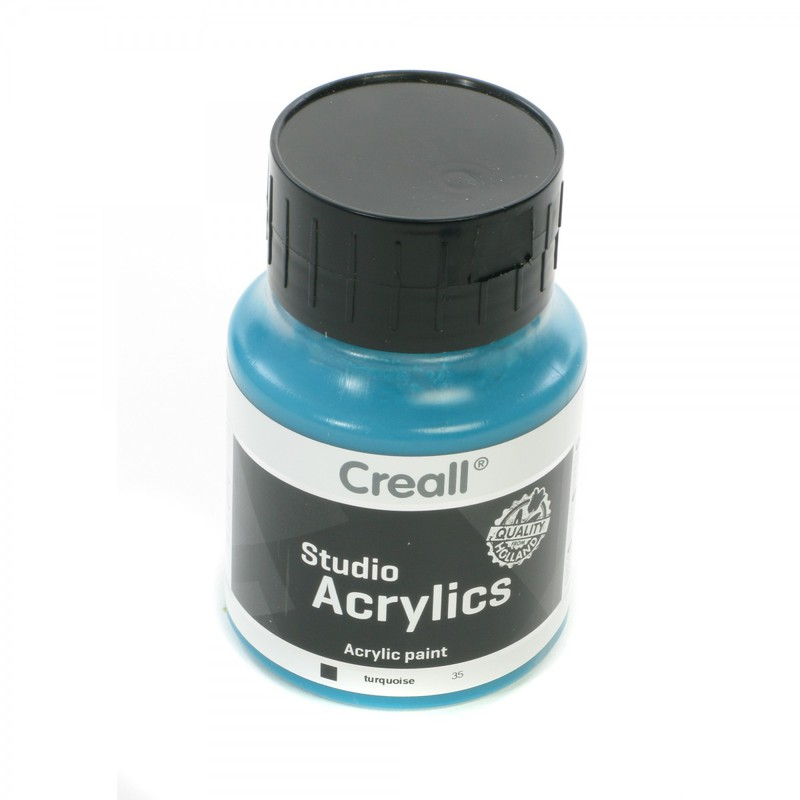 American Educational Creall® Studio Acrylics 500ml - Turquoise