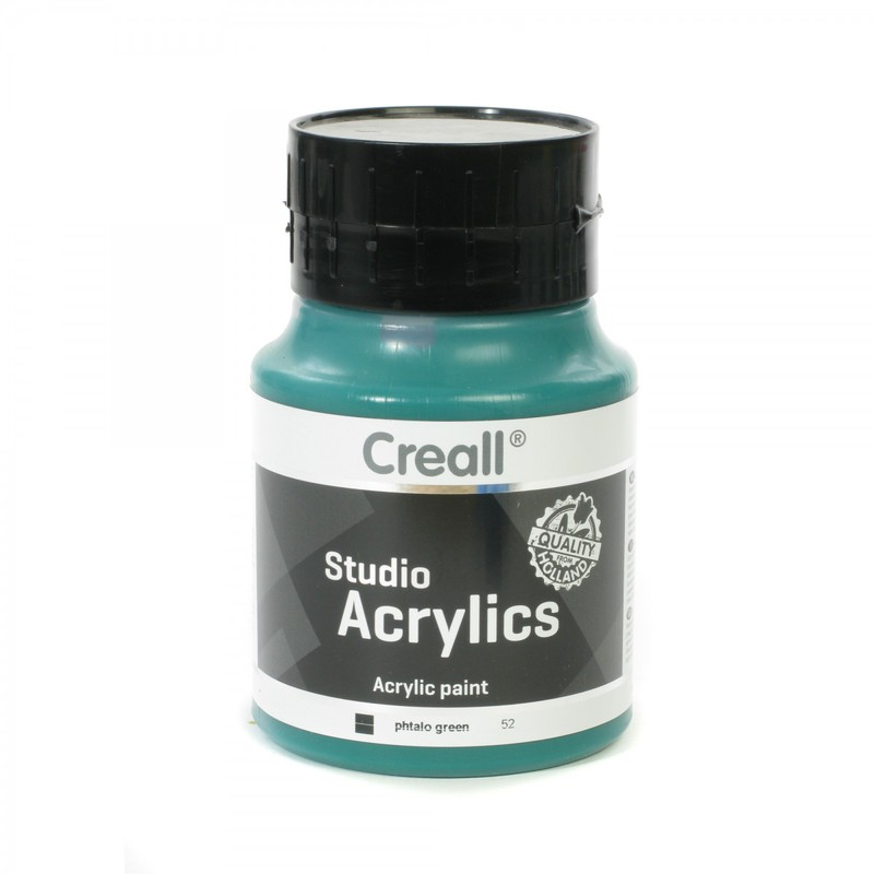 American Educational Creall® Studio Acrylics 500ml - Phtalo Green