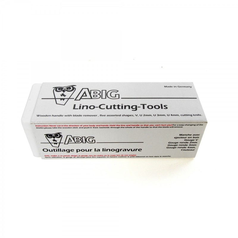 American Educational ABIG Lino Cutting Tool Set: 6 Blades