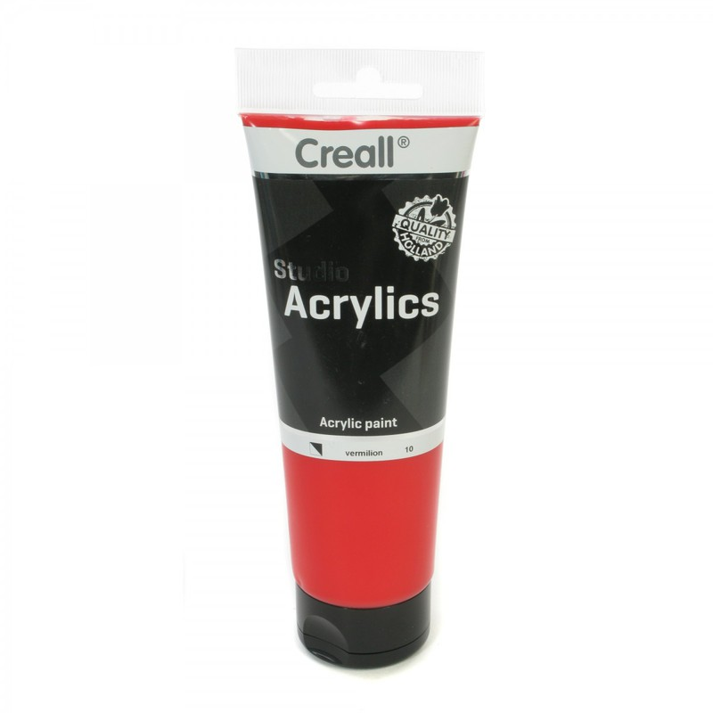 American Educational Creall® Studio Acrylics 250ml - Vermillion