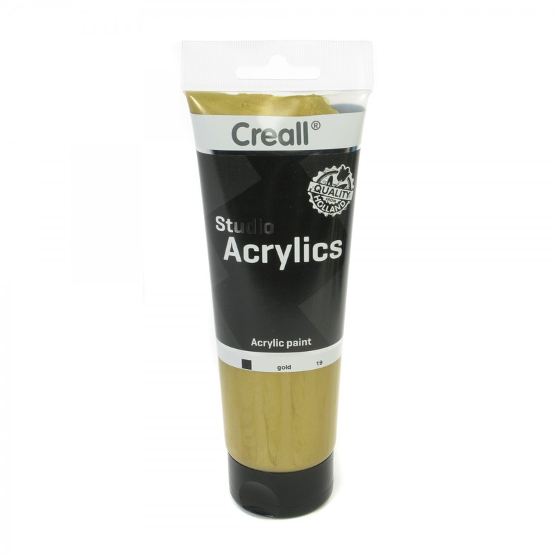 American Educational Creall® Studio Acrylics 250ml - Gold
