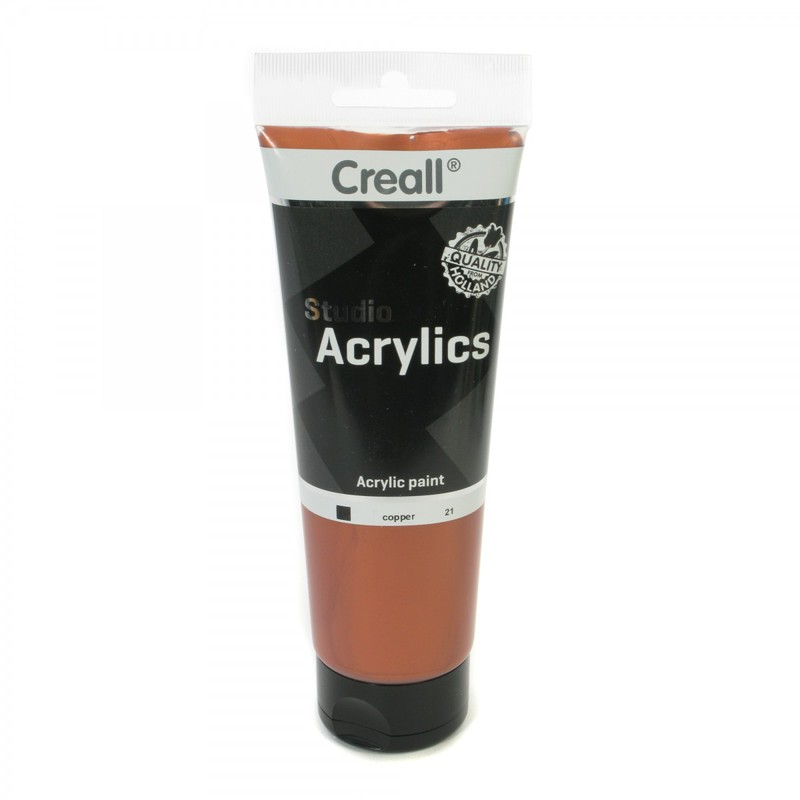American Educational Creall® Studio Acrylics 250ml - Copper