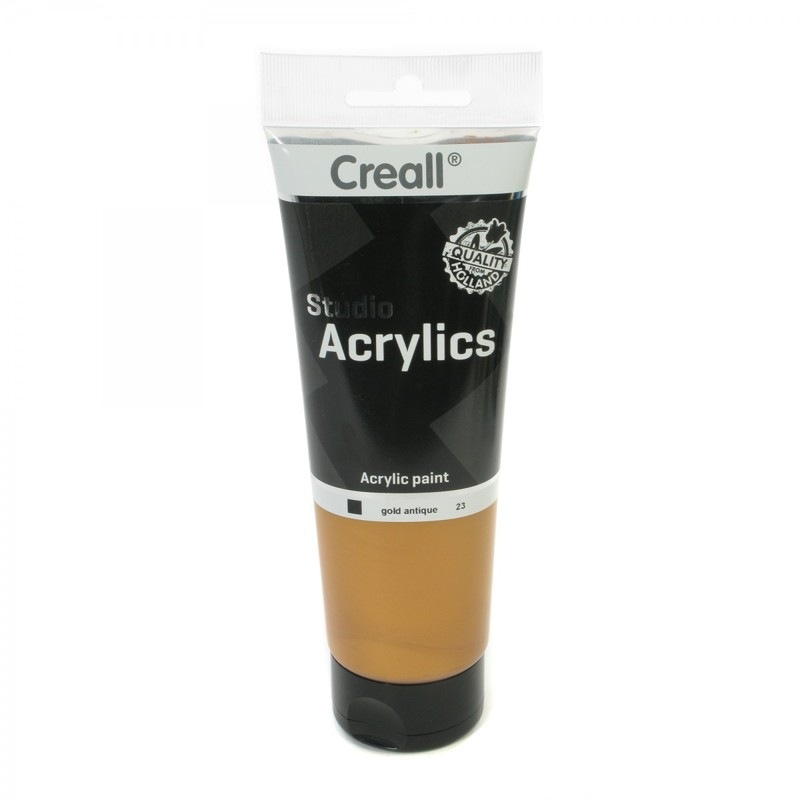 American Educational Creall® Studio Acrylics 250ml - Gold Antique