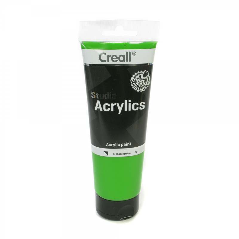 American Educational Creall® Studio Acrylics 250ml - Brilliant Green