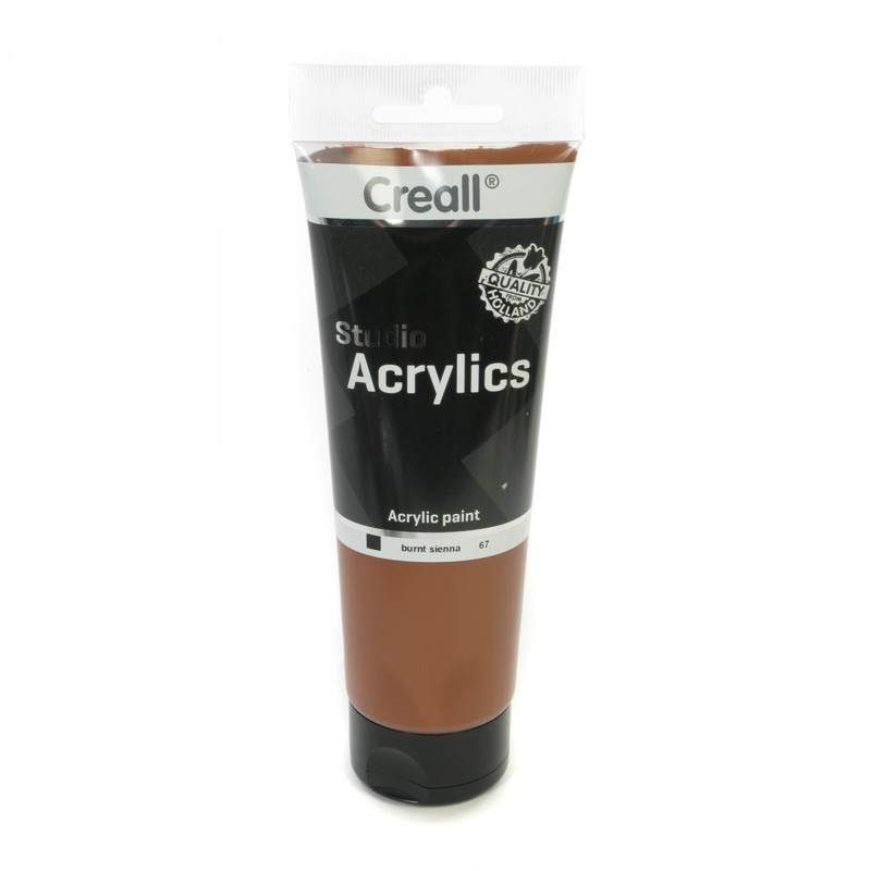 American Educational Creall® Studio Acrylics 250ml - Burnt Sienna