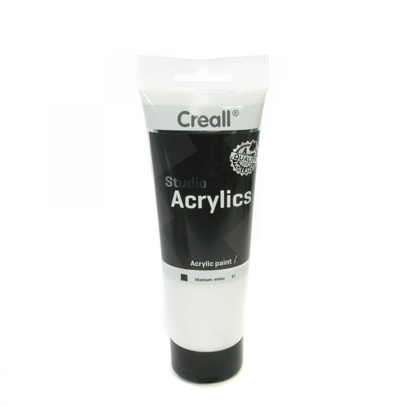 American Educational Creall® Studio Acrylics 250ml - White