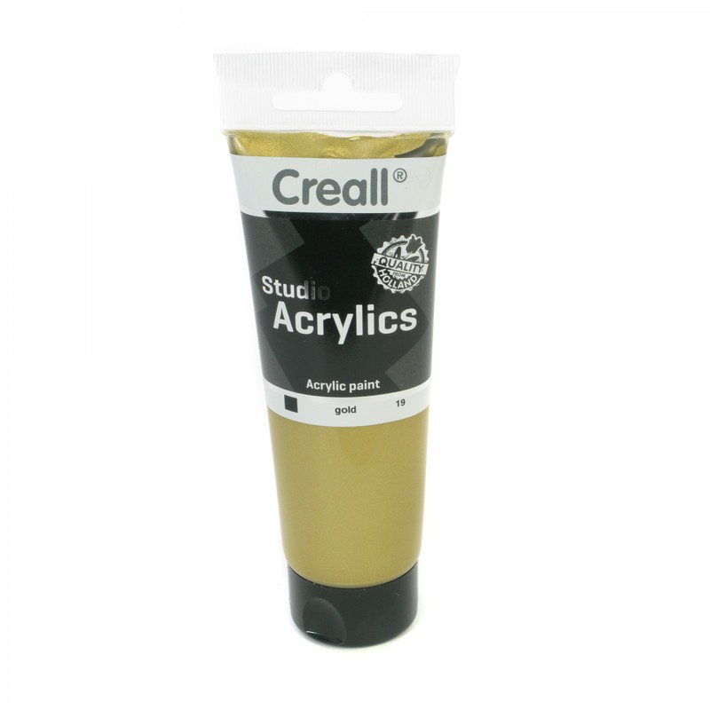 American Educational Creall® Studio Acrylics 120ml - Gold