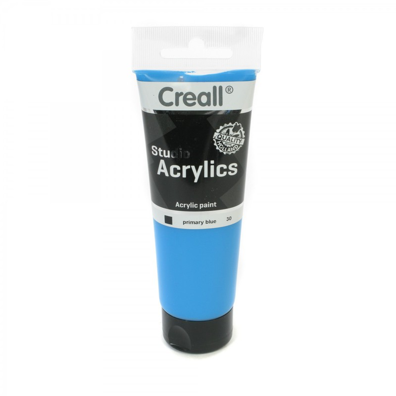 American Educational Creall® Studio Acrylics 120ml - Primary Blue