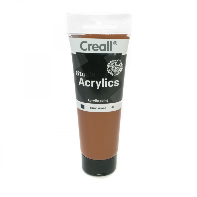 American Educational Creall® Studio Acrylics 120ml - Burnt Sienna