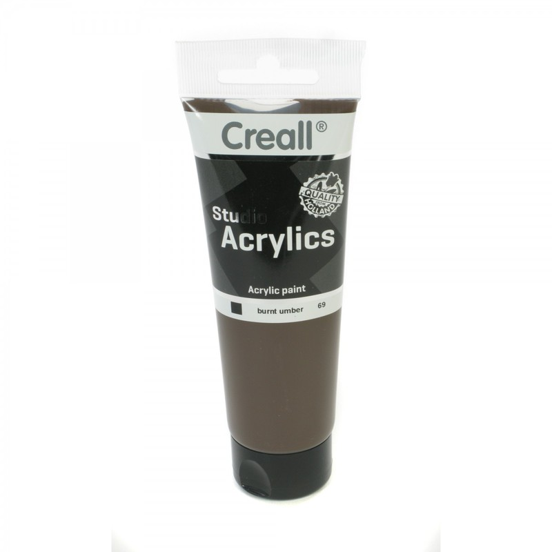 American Educational Creall® Studio Acrylics 120ml - Burnt Umber