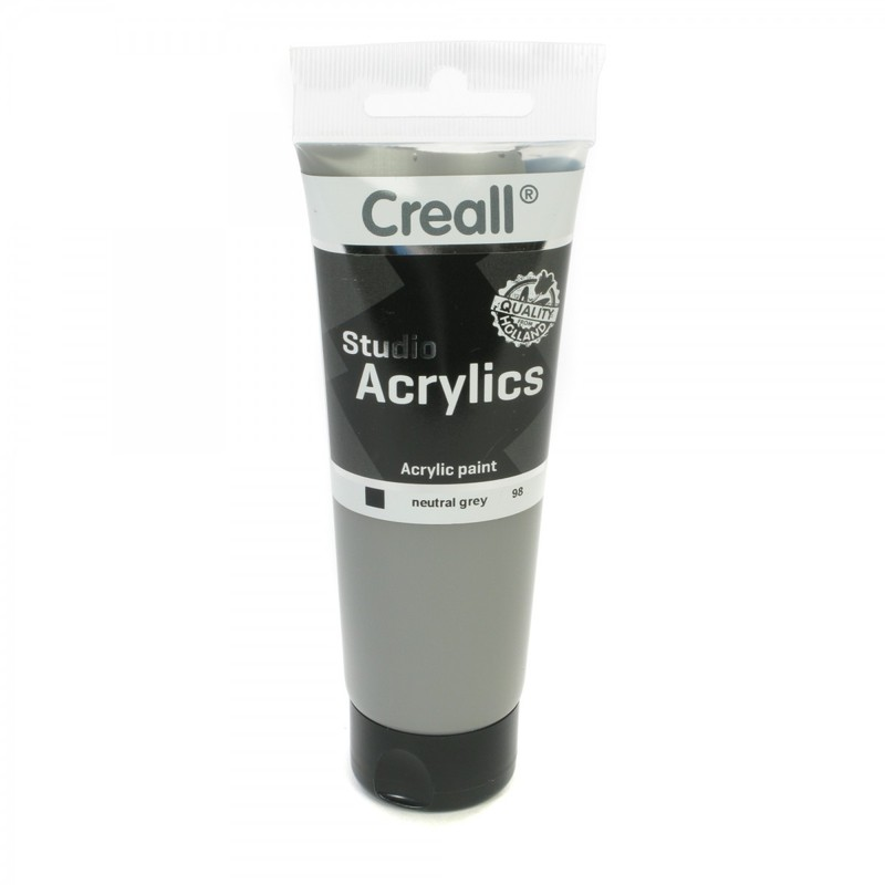 American Educational Creall® Studio Acrylics 120ml - Neutral Gray