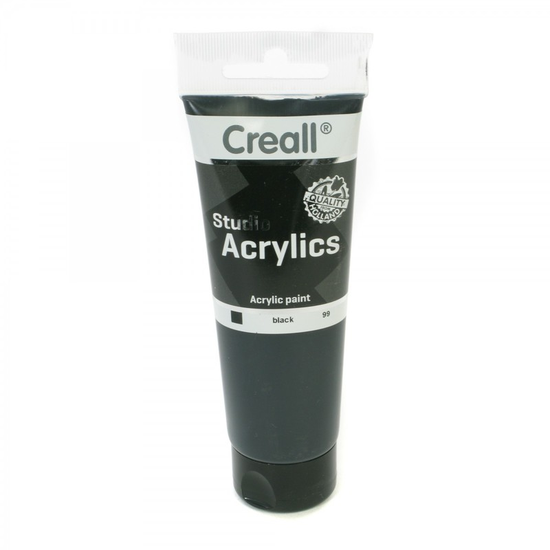 American Educational Creall® Studio Acrylics 120ml - Black