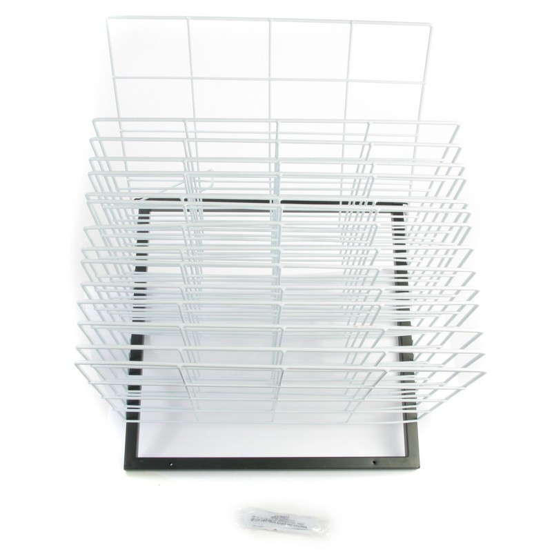 American Educational Wall Mounted Drying Rack: 15 Shelf