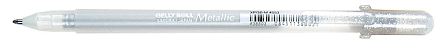Gelly Roll Metallic Gel Pen: Silver