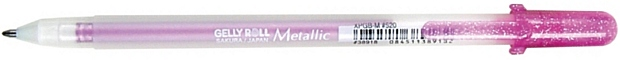 Gelly Roll® Pink Metallic Gel Pen: Metallic, Red/Pink, Gel, 1mm