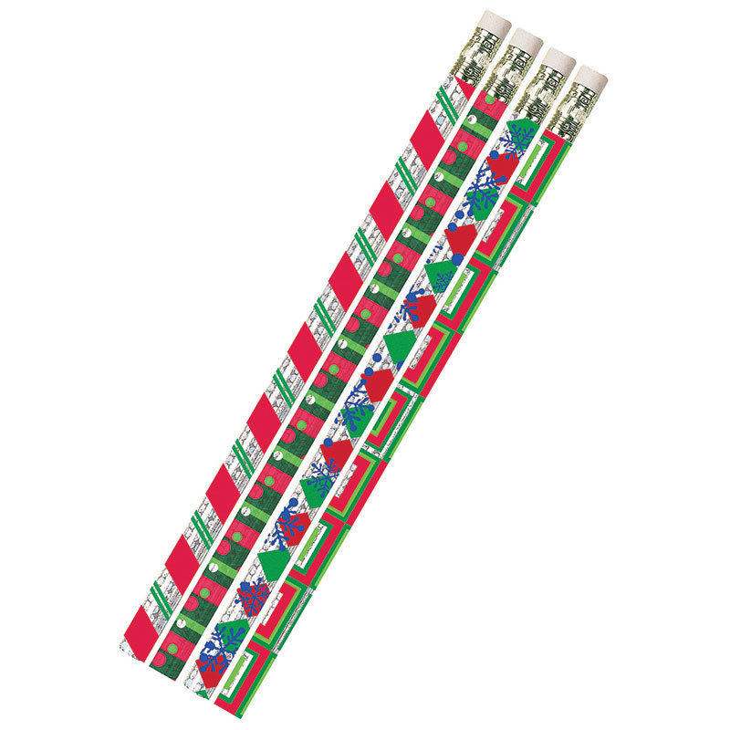 (12 Dz) Christmas Creations Pencils 12 Per Pk