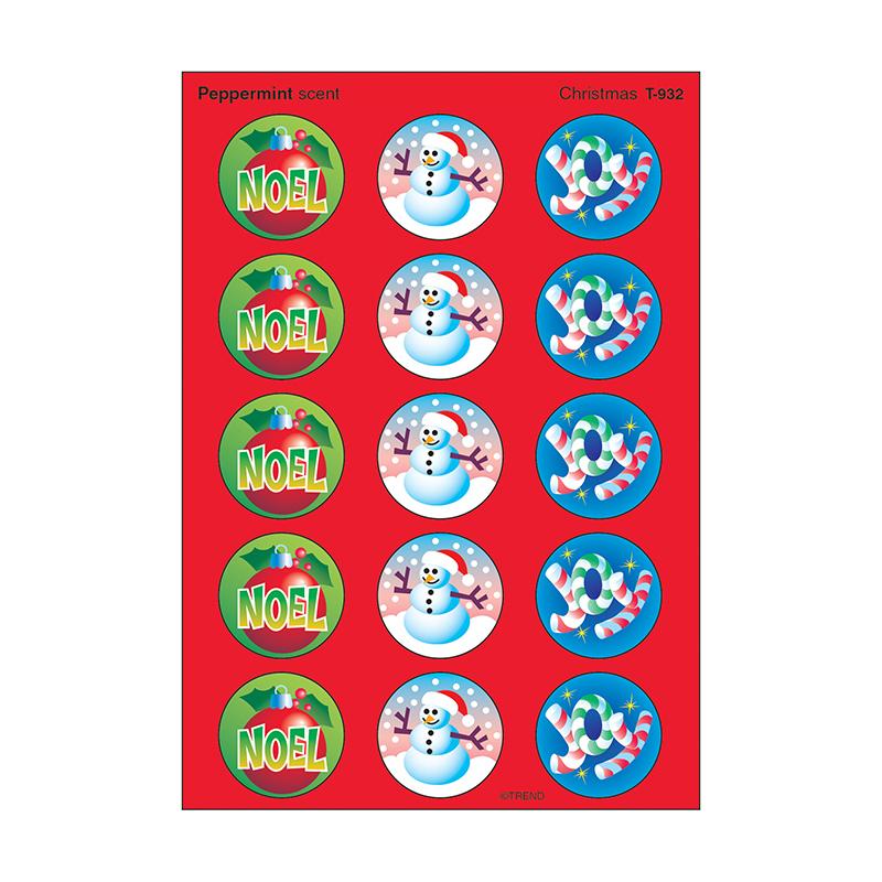 TREND ENTERPRISES INC. (12 Pk) Stinky Stickers Christmas ...