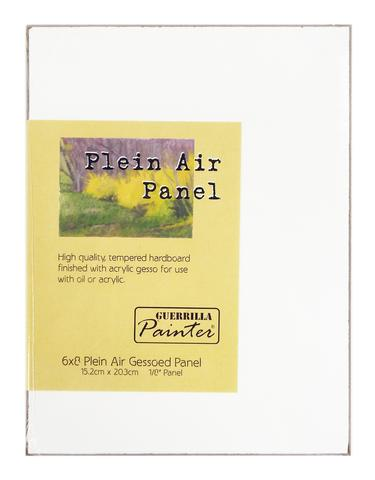 Guerrilla Painter Plein Air Gessoed Panel™: 6 x 8