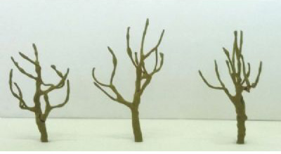 "Wee Scapes Architectural Model 0.5"" Round Head Armature 4-Pack"