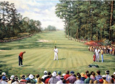 Royal & Langnickel Painting by Numbers Adult Sets: Augusta Golf